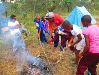 Learn about trees, birds, game animals, ecosystems, first aid in the bush and bush survival skills. Enjoy team building activities, go on a night walk; go fishing. Ride a horse, track wild animals, harvest wild fruits and more!