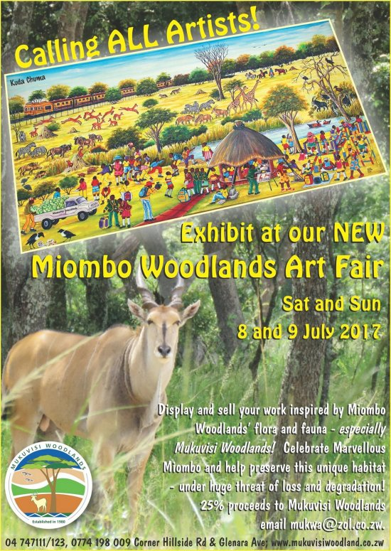 Miombo Woodlands Art @ Mukuvisi woodlands